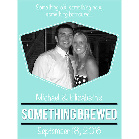 Something Brewed - Wedding Beer Labels