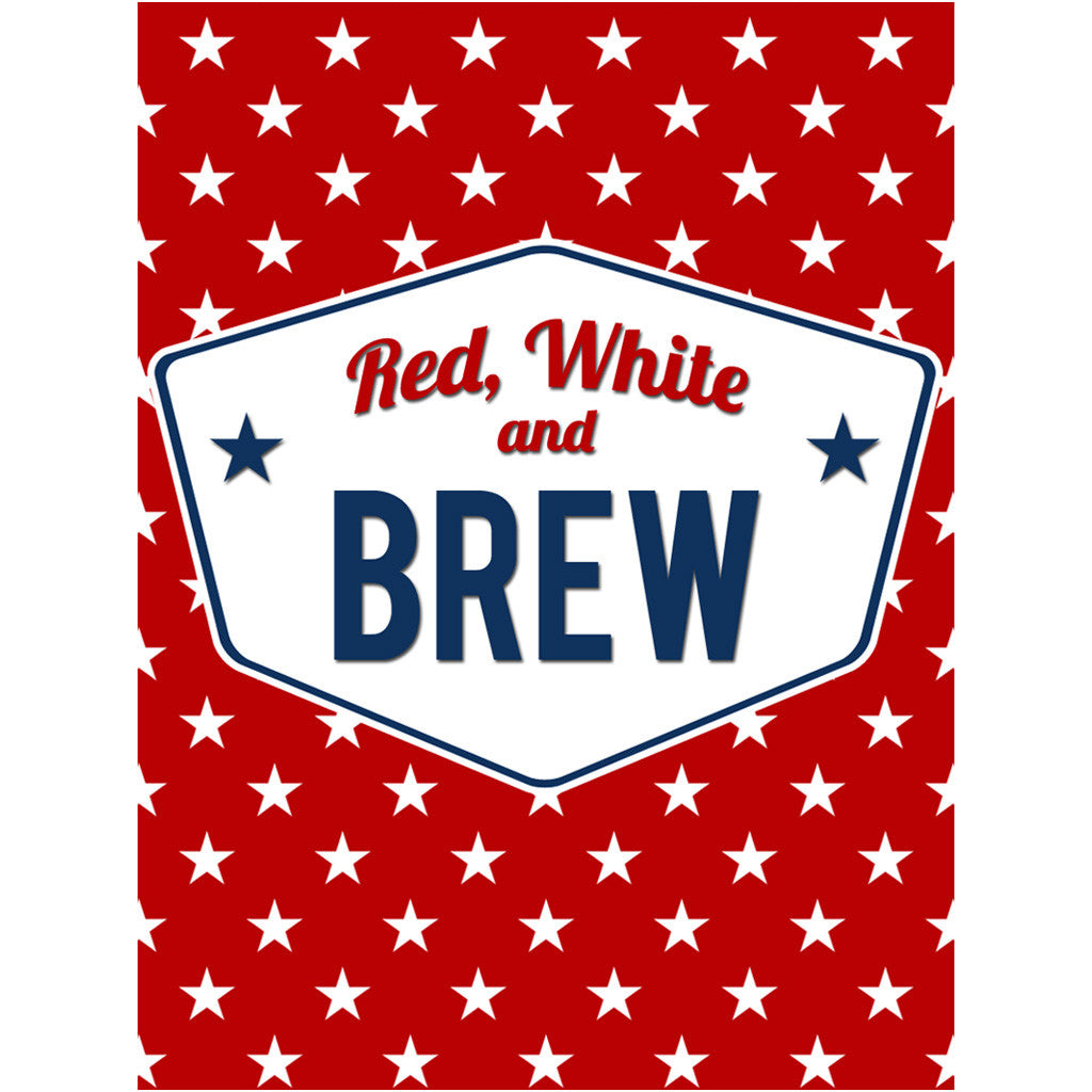 Red White and Brew - Custom Beer Bottle Holiday Labels ... - photo#9