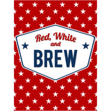 Red White and Brew - Holiday Beer Labels