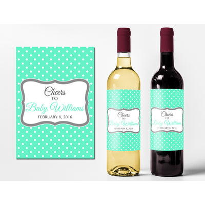 Cheers - New Baby Wine Labels