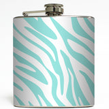 Wild Thing - Zebra Animal Print Flask