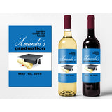 Tassles Worth The Hassle - Graduation Wine Labels
