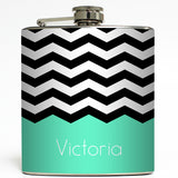 Chevronica - Personalized Chevron Flask