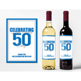 Celebrating - Birthday Wine Labels