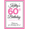 Personalized Celebration - Birthday Wine Labels