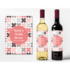 Coral Bridal Shower - Bridal Shower Wine Labels