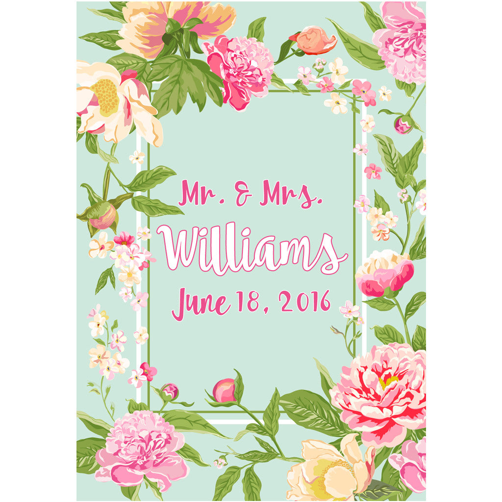 Light blue pink flower and name wedding wine labels liquid light blue flower and name wedding wine labels mightylinksfo