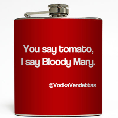 You Say Tomato - Bloody Mary Flask