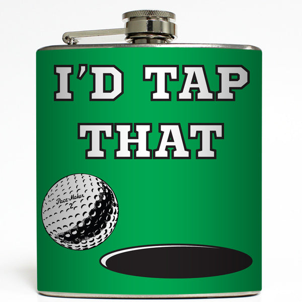I'd Tap That - Golf Flask