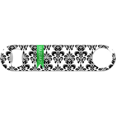 Personalized Damask - Monogram Bottle Opener