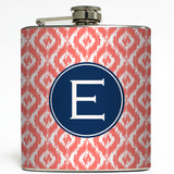 Hannah - Personalized Initial Flask