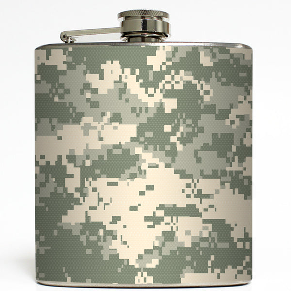 Army Strong - ACU Camo Flask