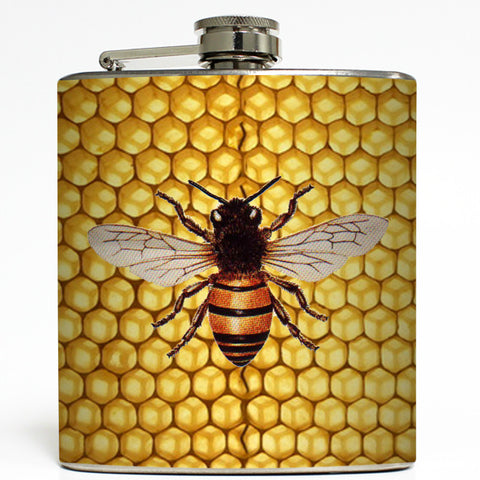 Queen B - Bee Flask
