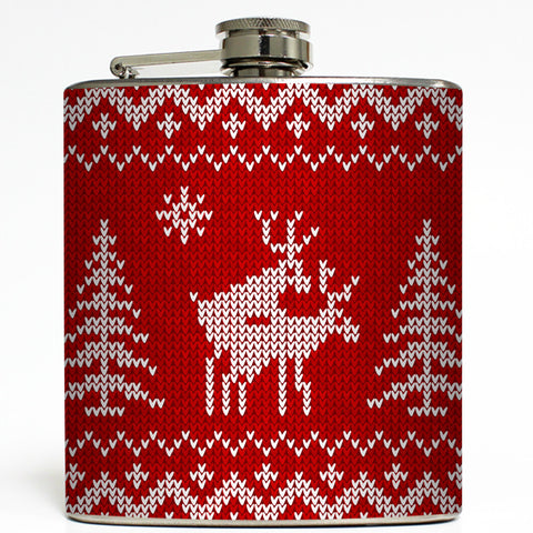 Ralphie's Red Ryder - Humping Reindeer Flask