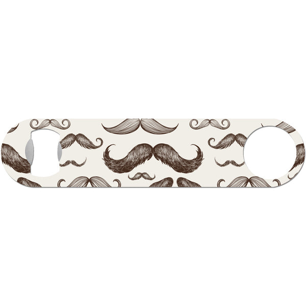 Burgundy - Retro Mustache Bottle Opener