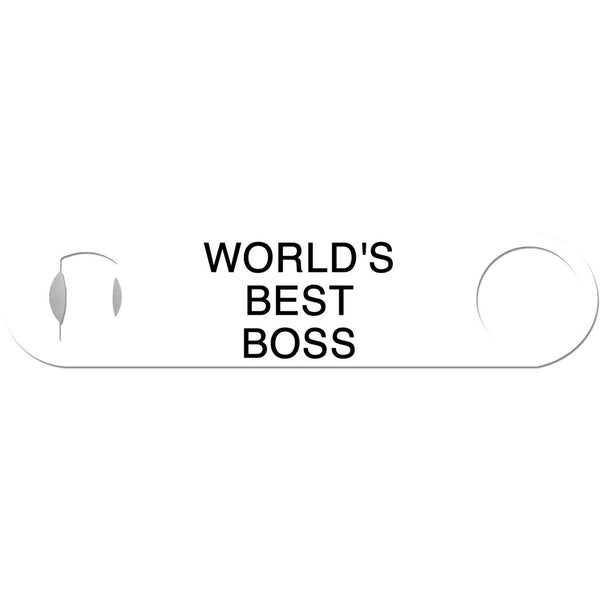 World's Best Boss - Funny Bottle Opener