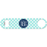 Blair Polka Dot Monogram - Initial Bottle Opener