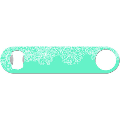 Victoria - White Flower Bottle Opener