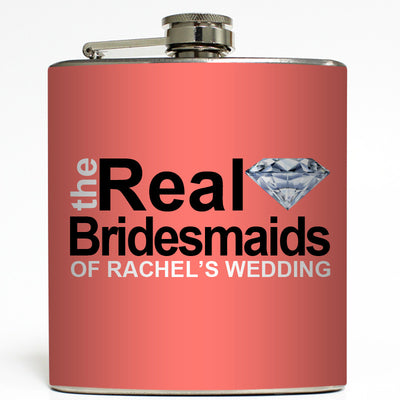 The Real Bridesmaids - Wedding Flask
