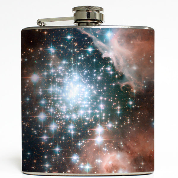 Hubble Star Cluster - Outer Space Flask