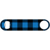 Blue & Black Buffalo Plaid - Lumberjack Bottle Opener