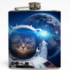 Cat Astronaut 1 - Funny Outer Space Flask