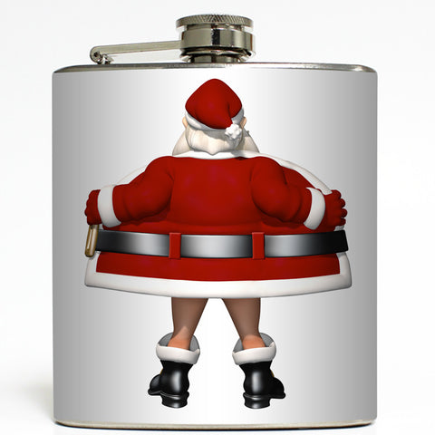 Jingle Jewels - Flashing Santa Flask
