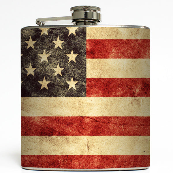 Stars and Stripes - American Flag Flask