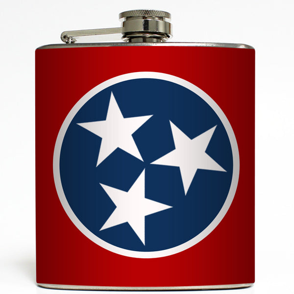 TN Tristar - Tennessee State Flag Flask