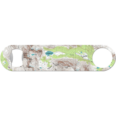 Off The Map - Topographical Map Bottle Opener