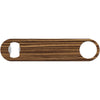 Zebrawood - Faux Wood Bottle Opener