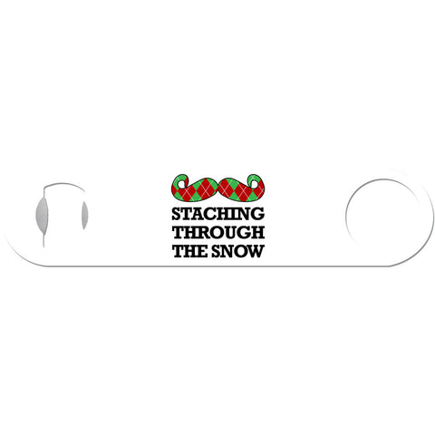 Staching Through The Snow - Christmas Bottle Opener