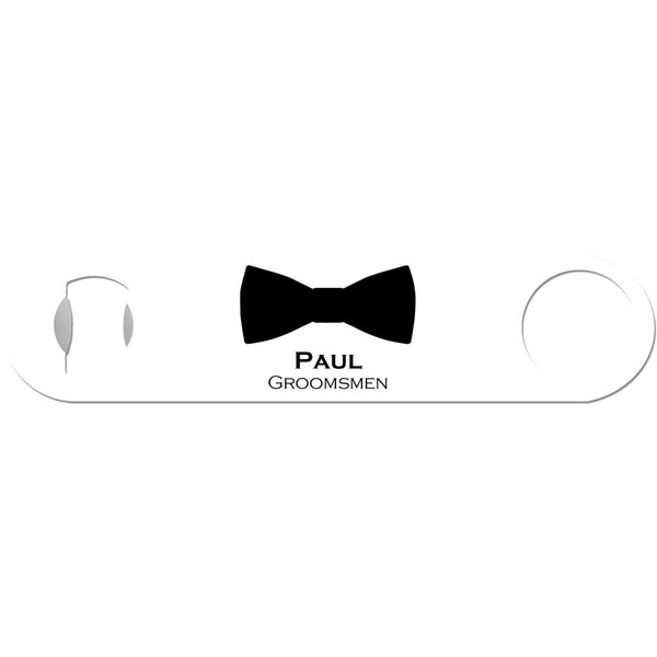Black Tie Event - Personalized Bow Tie Bottle Opener
