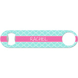 Custom Quatrefoil - Personalized Bottle Opener