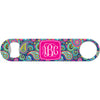 Personalized Blue Paisley - Monogram Bottle Opener