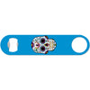Day of the Dead Skull - Blue Bottle Opener