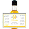 Wedding Monogram - Wedding Mini Bottle Labels