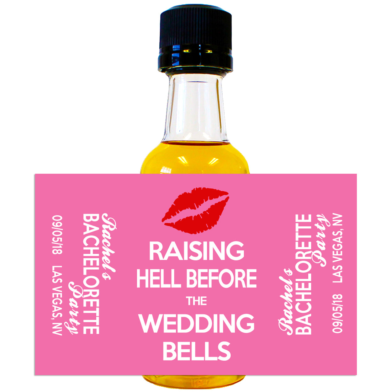 Bachelorette Party - Custom Mini Bottle Liquor Labels - Liquid ...