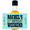 Birthday Weekend - Birthday Mini Bottle Labels