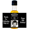 Date Happy Birthday Photo - Birthday Mini Bottle Labels