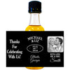 With Love, Mr. & Mrs. - Wedding Mini Bottle Labels