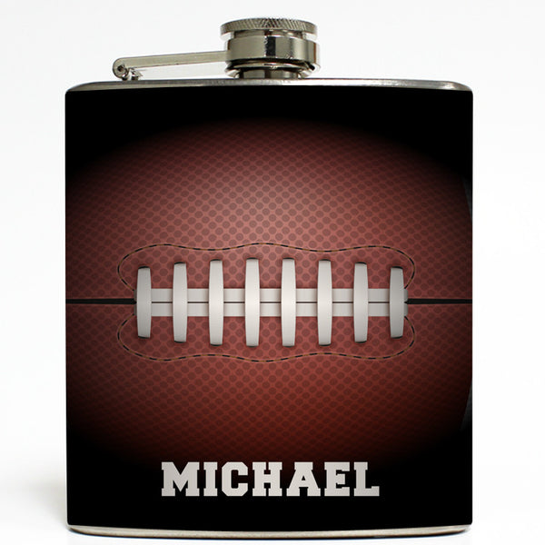 Personalized Football - NFL Sports Flask