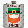 Designated Drinker - St Patty's Day Flask