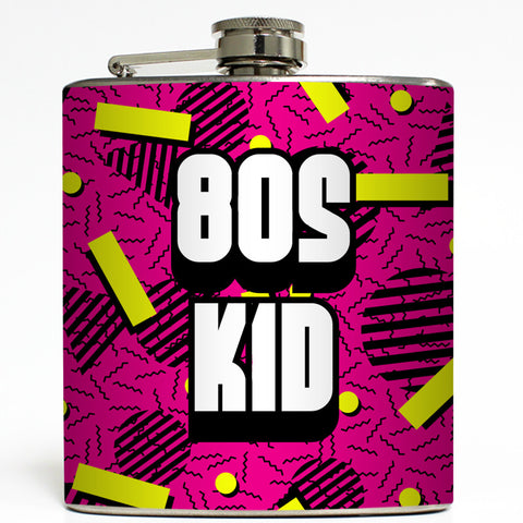 80s Kid - Funny Flask
