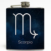 Scorpio - Astrology Zodiac Sign Flask
