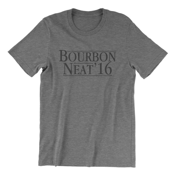 Bourbon Neat '16 - Grey Tri Blend T-Shirt