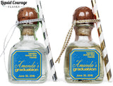 Tassles Worth The Hassle - Graduation Patron Mini Bottle Labels
