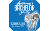 Bachelor Party Pinup - Wedding Patron Mini Bottle Labels