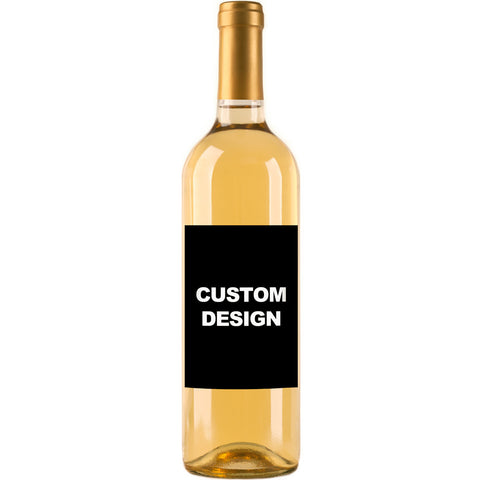 Upload Your Own Design - Custom Wine Labels