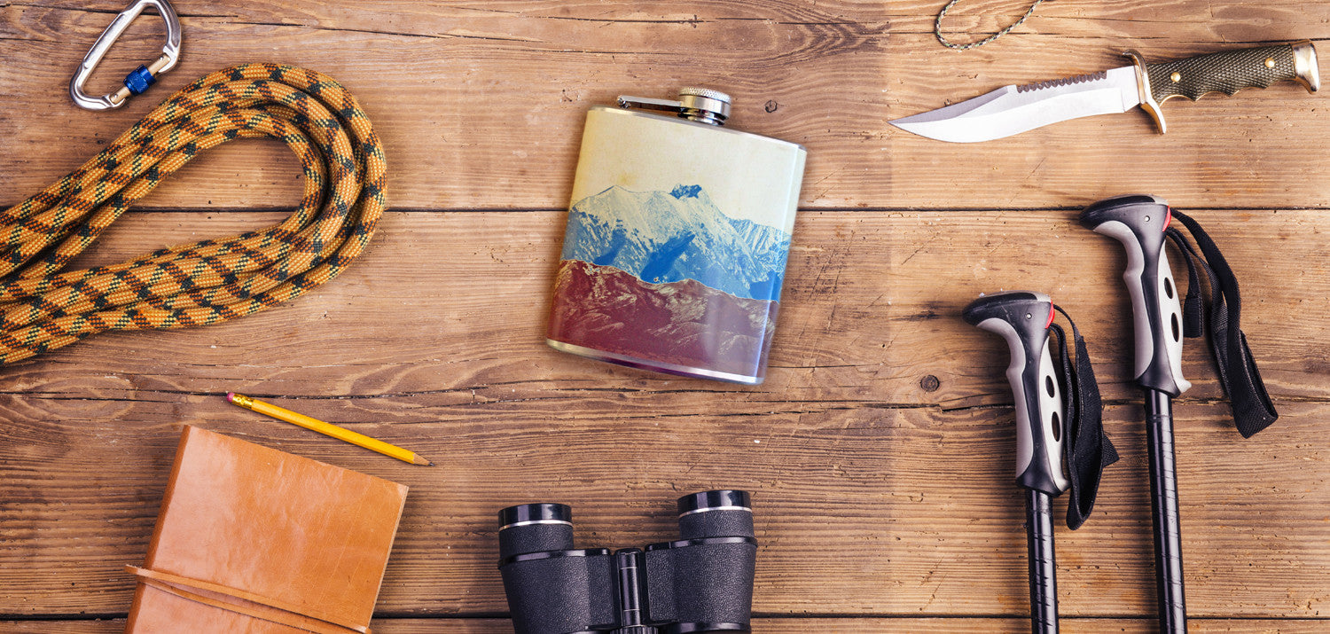 Rocky Mountain High Flask